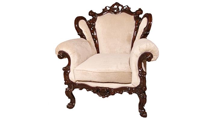 Кожаное кресло Белла - 4
