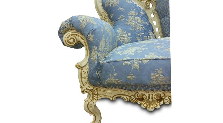 Кожаное кресло Белла - 3
