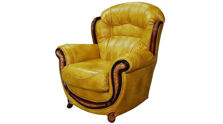 Кожаное кресло Джове