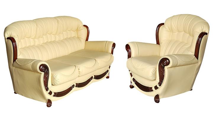Кожаное кресло Джове - 7