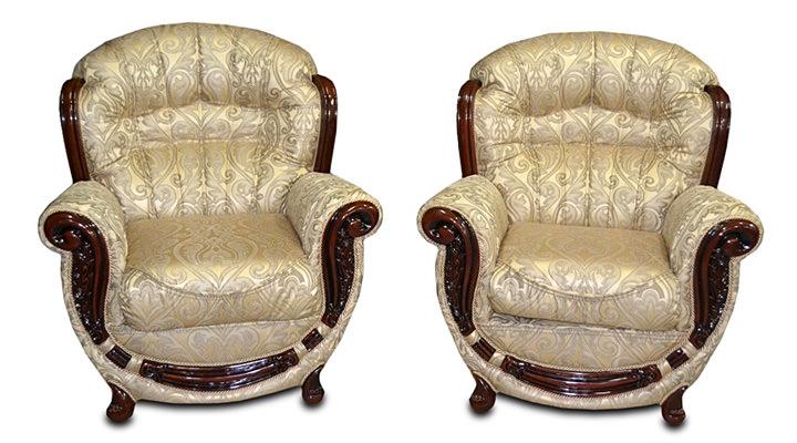Кожаное кресло Джове - 3