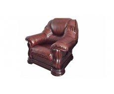 Кожаное кресло Гризли лайт 100
