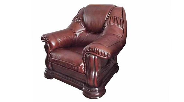 Кожаное кресло Гризли 100