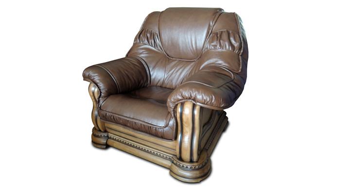 Кожаное кресло Гризли 100 - 2