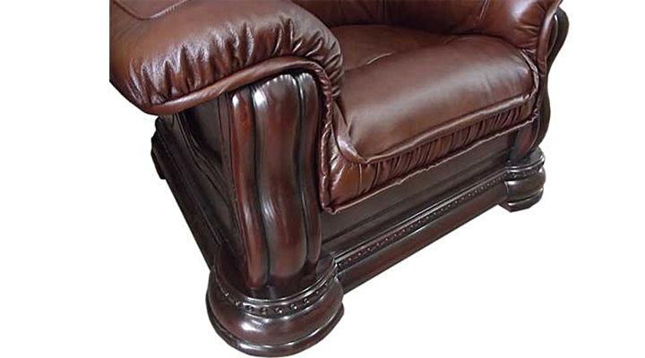 Кожаное кресло Гризли 100 - 4