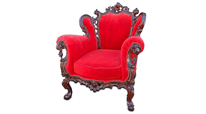 Кожаное кресло Изабелла - 3