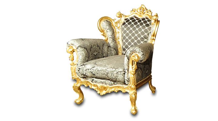 Кожаное кресло Изабелла - 6