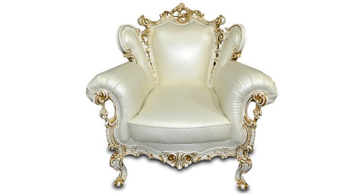 Кожаное кресло Изабелла