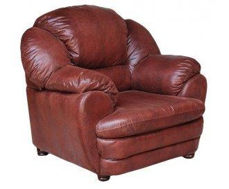 Кожаное кресло Идэн