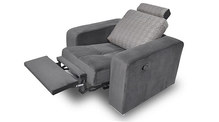 Кожаное кресло реклайнер FX 10 BIS (Ф-Икс 10 Бис)