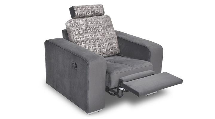 Кожаное кресло реклайнер FX 10 BIS (Ф-Икс 10 Бис) - 3