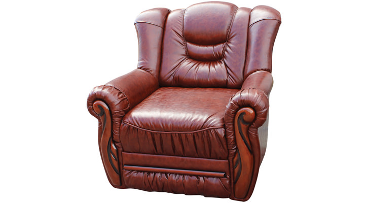 Кожаное кресло Князь-Паж