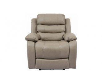 Кожаное кресло реклайнер Айверсон