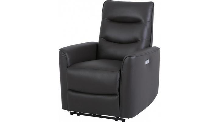 Кожаное кресло реклайнер Грин - 3