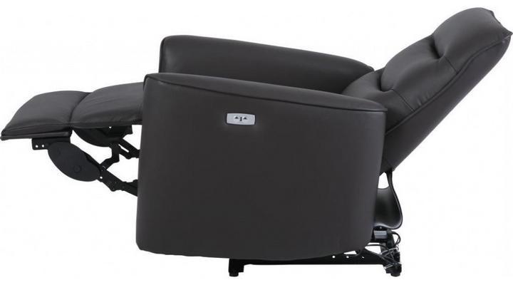 Кожаное кресло реклайнер Грин - 6