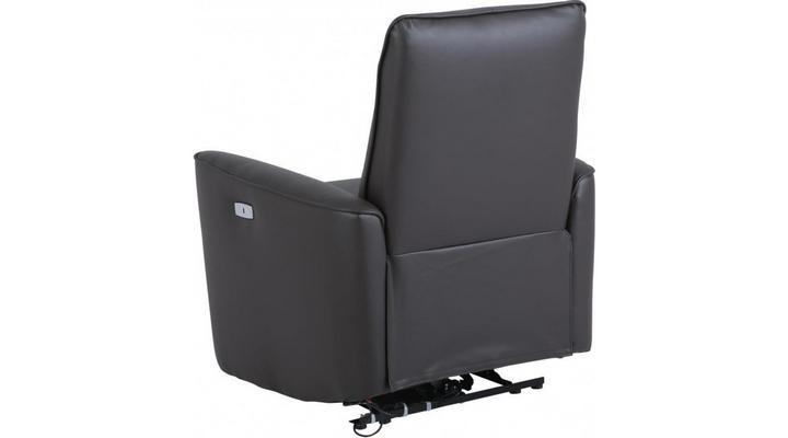 Кожаное кресло реклайнер Грин - 9