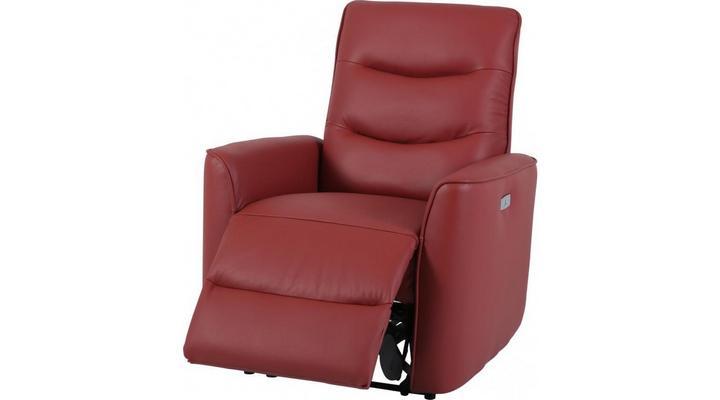 Кожаное кресло реклайнер Грин - 4