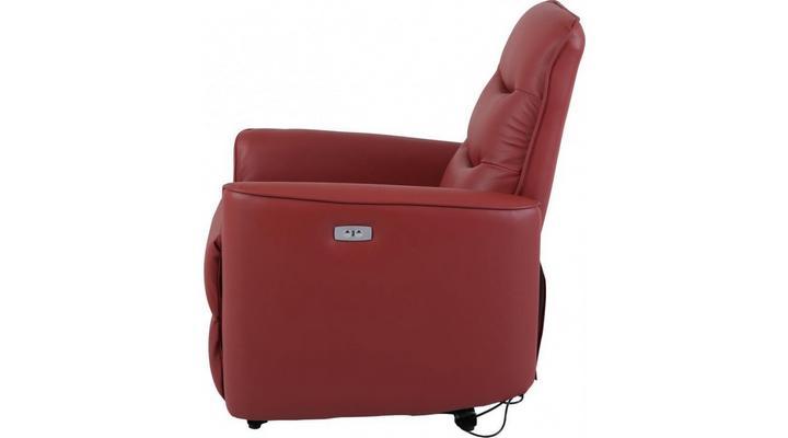 Кожаное кресло реклайнер Грин - 7