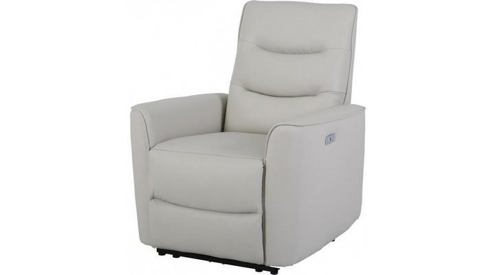 Кожаное кресло реклайнер Грин - 8