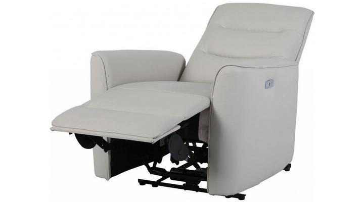 Кожаное кресло реклайнер Грин - 5