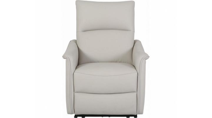 Кожаное кресло реклайнер Хилл