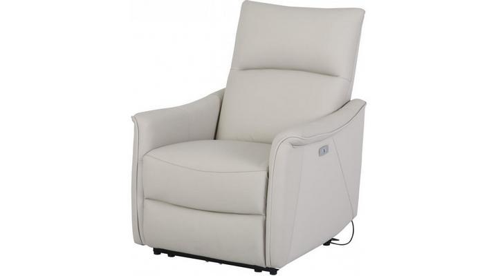 Кожаное кресло реклайнер Хилл - 3