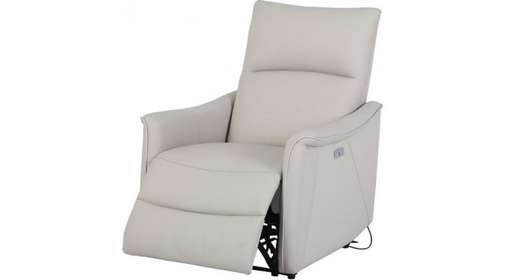 Кожаное кресло реклайнер Хилл - 5