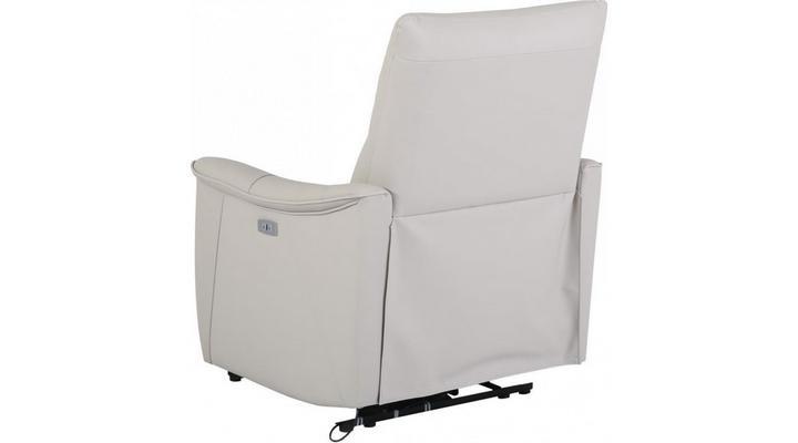 Кожаное кресло реклайнер Хилл - 9