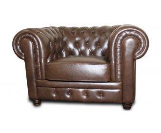 Кожаное кресло Честер Мундус