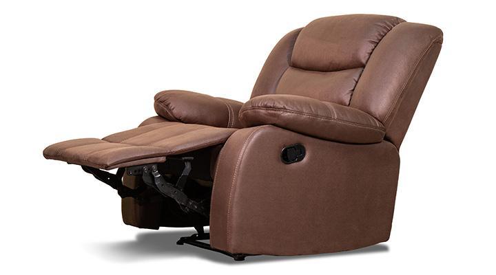 Кожаное кресло реклайнер Эшли - 3