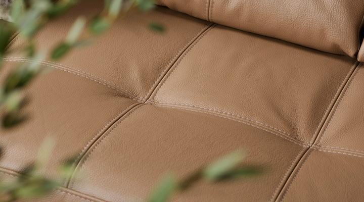 Кожаный угловой диван реклайнер Калифорния В1-286 - 2
