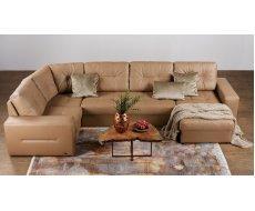 Кожаный модульный диван Калифорния мини В1-297