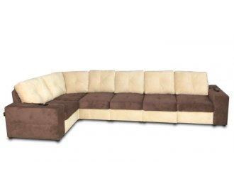Модульный диван Калифорния с электрореклайнерами В1-382