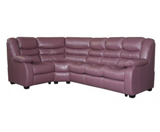 Кожаный модульный диван Манхэттен