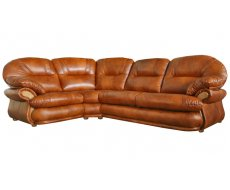 Кожаный модульный диван Орландо