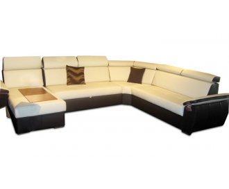 Кожаный модульный диван FX-15 B8 угол C (Ф-Икс 15 Б8)
