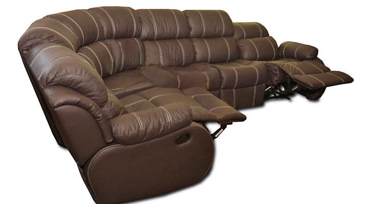 Кожаный модульный диван Reglainer (Реглайнер) - 3
