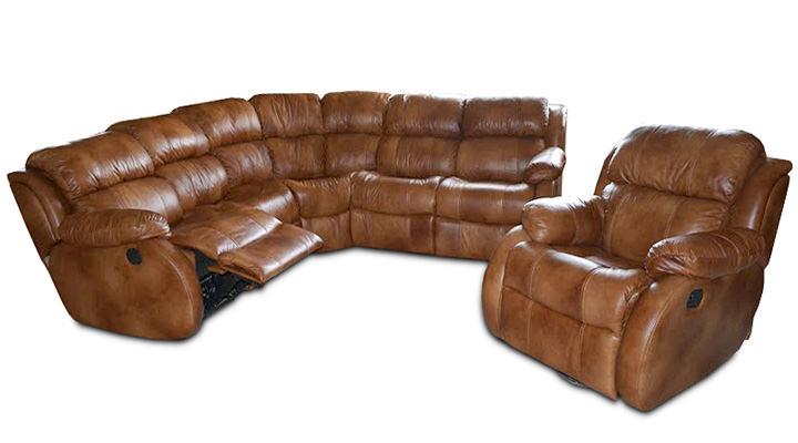Кожаный модульный диван Reglainer (Реглайнер) - 2