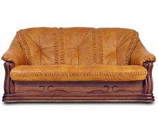 Кожаный диван Цезарь