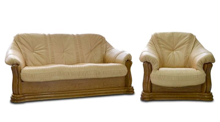 Кожаный диван Цезарь - 2