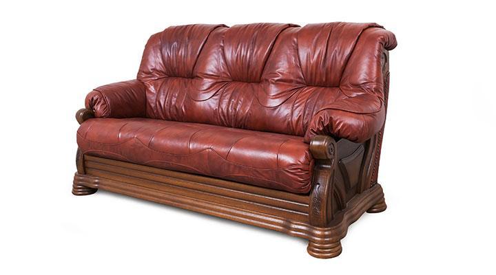 Кожаный комплект с двумя креслами Виконт - 2