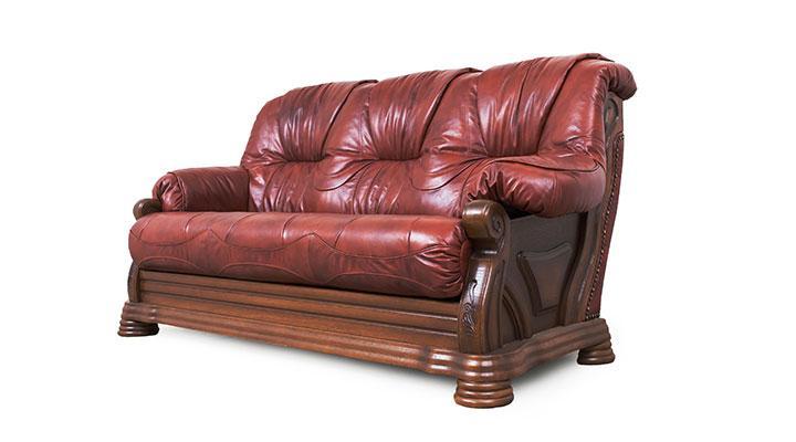 Кожаный комплект с двумя креслами Виконт - 3
