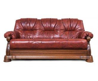 Кожаный диван Виконт