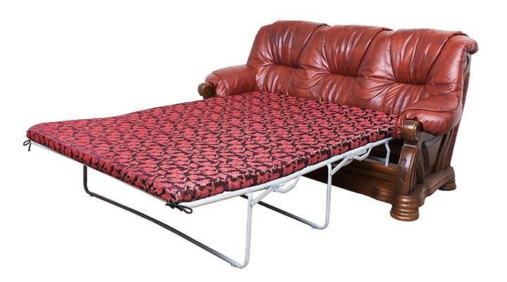 Кожаный комплект с двумя креслами Виконт - 6