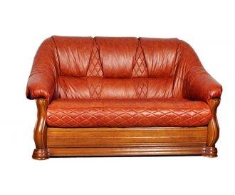 Кожаный диван Маркиз