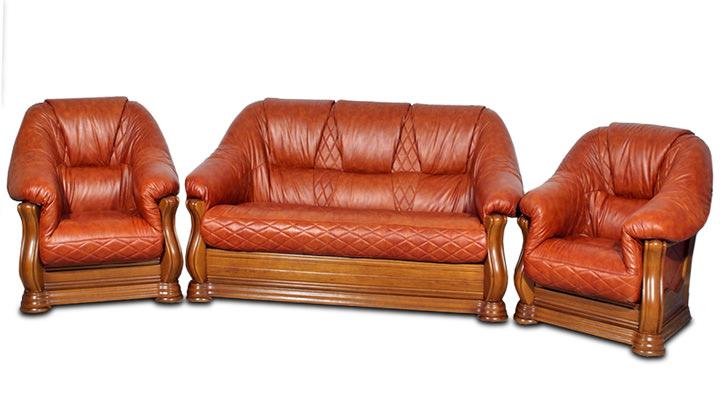 Кожаное кресло Маркиз - 2