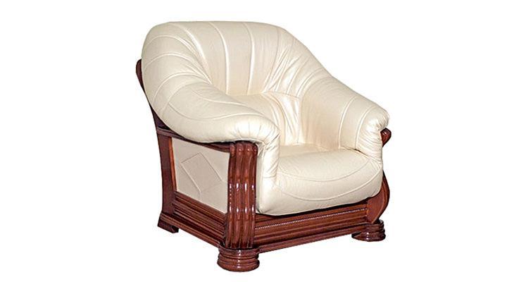 Кожаное кресло Монарх