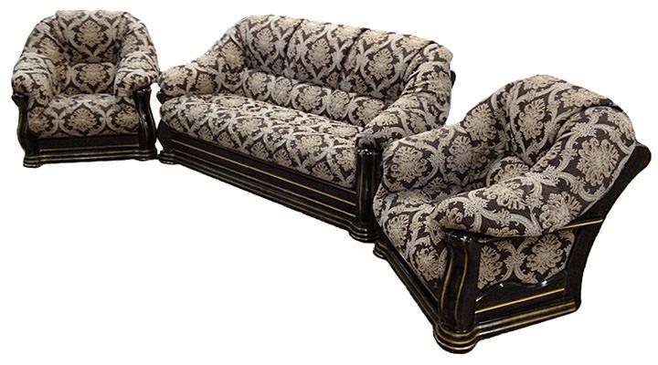 Кожаный диван Монарх - 4