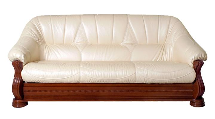 Кожаный диван Монарх