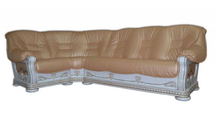 Кожаный угловой диван Герцог - 2